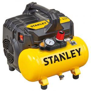 Compresseur silencieux Stanley DST100/8/6 sans huile 750W 6L