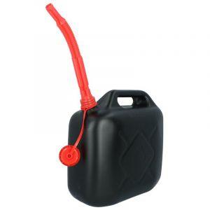 Jerrican noir 10L