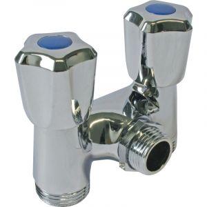 Robinet double sortie comparer 173 offres - Double robinet machine a laver ...
