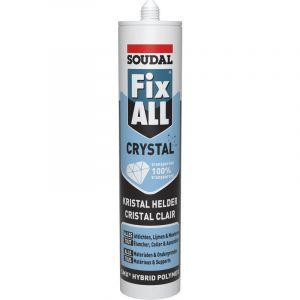 Mastic Soudal Fix All Crystal transparent 290ml