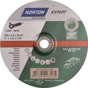 Disque à tronçonner Norton Expert pierre Ø230 22,23x3,2mm