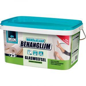 Colle à papier peint Bison pour fibre de verre 5kg