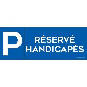panneau parking reserve comparer 59 offres. Black Bedroom Furniture Sets. Home Design Ideas