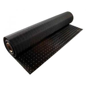 Rouleau de tapis antidérapant à pastilles  : Couleur - Noir
