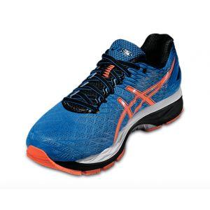 Gel-nimbus 18 Electric blue / Hot Orange / Black 2016 Blanc - Orange - Homme