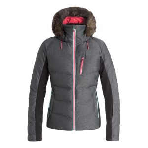 Snowstorm - Manteau d'isolation thermique de snow True Black Gris - Femme