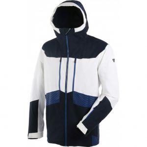 Veste ski Touring Jacket - White Blanc - Bleu - Homme