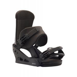 Fixation de snowboard Custom Black Noir - Homme