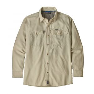 Chemise Men's Long-Sleeved Sol Patrol II Shirt Beige - Homme
