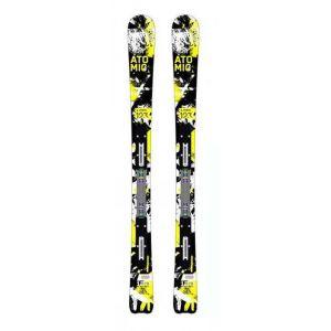 Skis courts ETL 123 cms Blanc - Femme, Homme