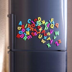 Pack des 26 lettres de l'alphabet magnétiques