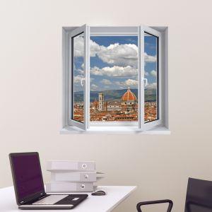 Sticker trompe l'oeil Italie Florence