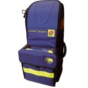 Sac de transport DMT bouteille 5L Avec poche défibrillateur l'unité