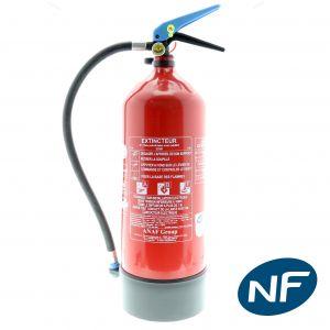 Extincteur Eau+additif ABF 6 litres - PP Pression Permanente