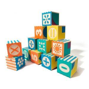 Cubes Mathématiques Groovie Maths - set de 28