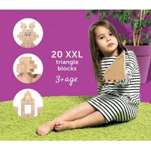 GIGI - 20 briques Triangles XL