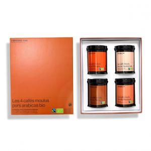 À la découverte des cafés bio* Malongo