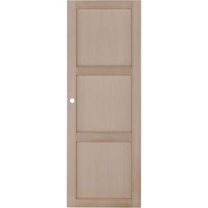 Porte coulissante Hêtre ATRIA 3 panneaux 204 x93