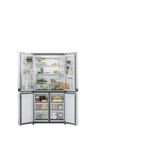 Réfrigérateur congélateur combiné pose libre inox Whirlpool WQ9E1L