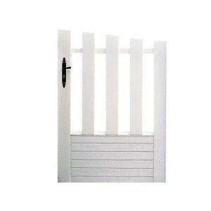 Portillon PVC ALIZE avec accessoires réglables 135 x l.100 gauche
