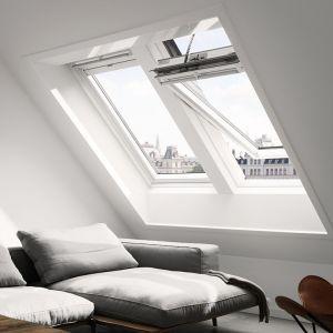 VELUX INTEGRA Confort électrique BLANC Ever Finish - Rotation - GGU 0076 CK02