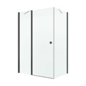 Porte de douche pivotante 88 90 cm comparer 53 offres for Porte 53 cm