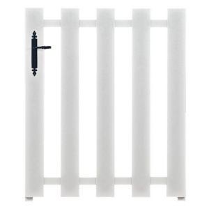 Portillon PVC BORA avec accessoires réglables 120 x l.100 gauche