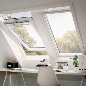 VELUX Tout Confort - BLANC White Finish - Rotation - GGL 2057 MK04