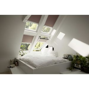 VELUX Solaire Tout Confort BLANC Ever finish - Rotation - GGU 005730 MK04