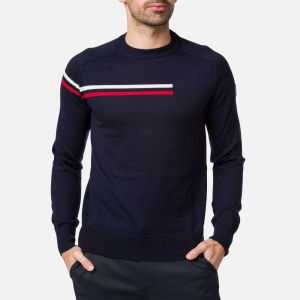 Pull col rond Diago Homme BLUE - Taille L - Homme