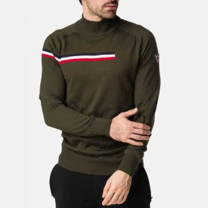 Pull col roulé Diago Homme BROWN, GREEN, GREY - Homme