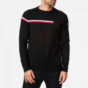Pull col rond Diago Homme BLACK - Homme