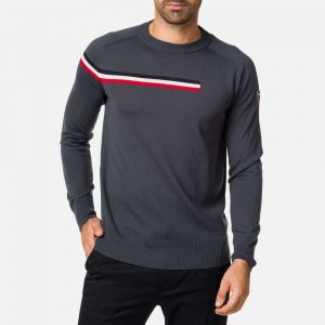 Pull col rond Diago Homme GREY - Taille L - Homme