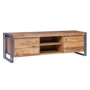 meuble tv indus comparer 32 offres. Black Bedroom Furniture Sets. Home Design Ideas