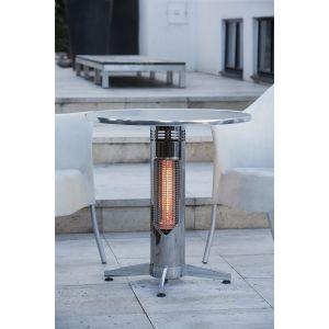 Table chauffante infrarouge Vireo silver C70S pour l'extérieur