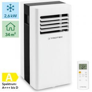 Climatiseur Trotec Mobile PAC 2600 X jusqu'à 85 m3