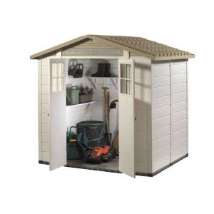 Abri de jardin de jardin en PVC EVO 200 de 3,13m2