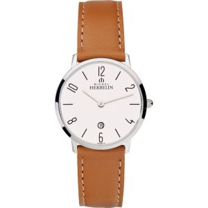 Montre Michel herbelin City Femme Bracelet Marron