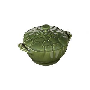 Cocotte céramique artichaut, 12,5 cm