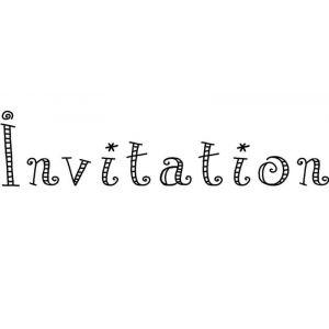 Tampon - invitation fiesta