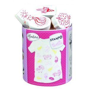 Kit textile Stampo Licorne magique