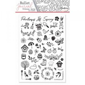 Tampons Bullet Journal Printemps