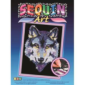 Kit Art Sequin Loup