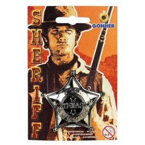 Etoile de sheriff en plastique
