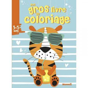 Mon gros livre de coloriage tigre