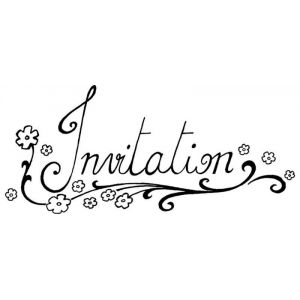 Tampon - invitation