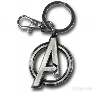 porte cle metal avengers logo