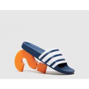 adidas Originals Claquettes Adilette, Bleu - Taille 40 2/3