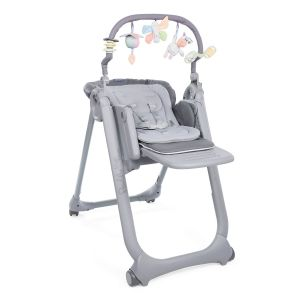 Chaise Haute Polly Magic Relax - 4 Roues