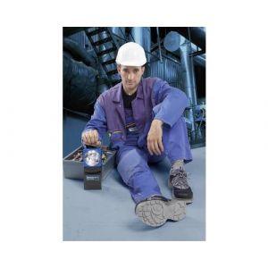 Lampe torche sans fil AccuLux 456481 noir, bleu Ampoule halogène 4V, ampoule LED pilote Nichia 5 mm 1100 g